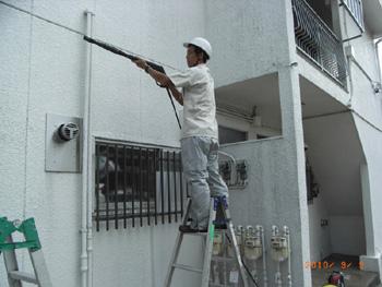 施工例:外壁洗浄