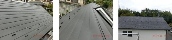 屋根葺き替え施工例1