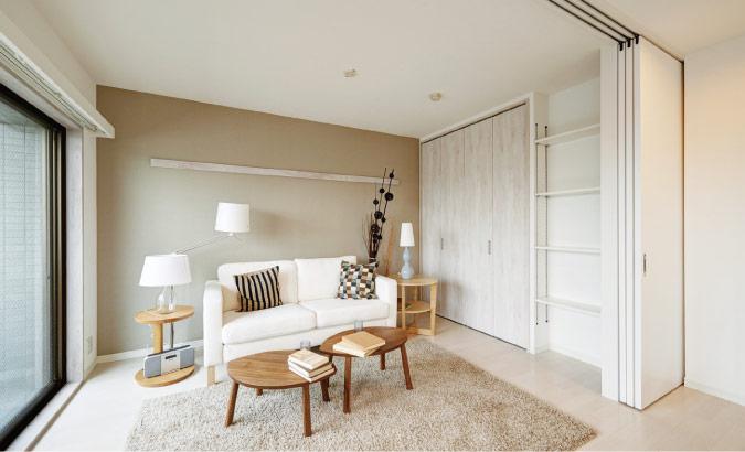 『白』を基調にスッキリとしたモダンな空間に-中野区N様邸