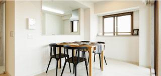 新築のような仕上がりにお客様から人気。-対面式キッチン